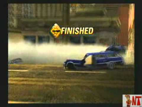 Burnout Revenge-Playstation 2-Parte 1