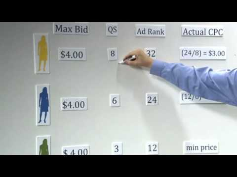 Search Advertising With Google: Part 7 - Example of an Adwords Auction