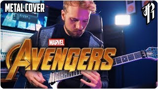 The Avengers Theme || METAL COVER by RichaadEB