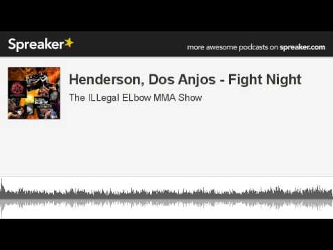 Henderson Dos Anjos  Fight Night made with Spreaker