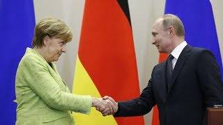Merkel and Putin meet for talks in Berlin joint statements