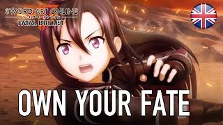 Sword Art Online Fatal Bullet - PS4/XB1/PC - Own your fate (English Trailer)