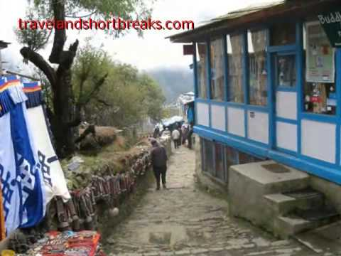 Namche Bazaar Nepal Treks and Mount Everest Tours