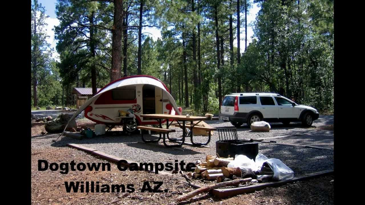 Camping With A Tab Travel Trailer Williams Az White Mt