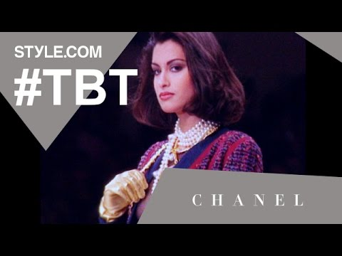 Karl Lagerfeld's Hip-Hop-Inspired Fall 1991 Chanel Show - #TBT with Tim Blanks - Style.com