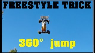 360° jump RC buggy freestyle jump