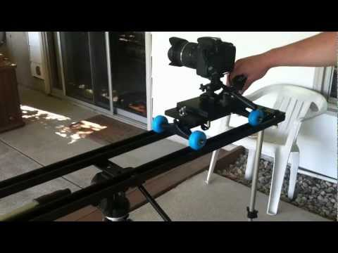 DIY Slider (Inspired by Spider Trax dolly)