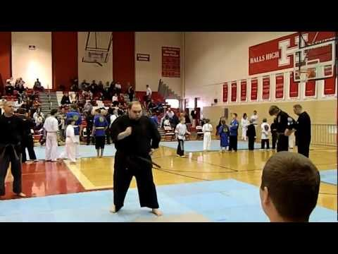 Wansu Kata - Isshinryu Karate -  2012 Crossroads Karate Games Image 1