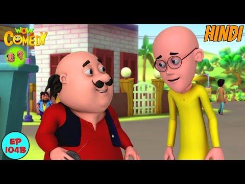 Human Remote Control | Motu Patlu in Hindi |  3D Animated Cartoon Series for Kids thumbnail