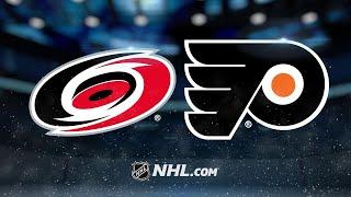 Voracek, Flyers edge Hurricanes, 4-3