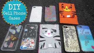 DIY IPhone Cases/Covers! Cute, Easy, Inexpensive & Fun to make!