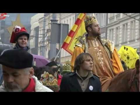 Orszak Trzech Króli W Poznaniu - 2013