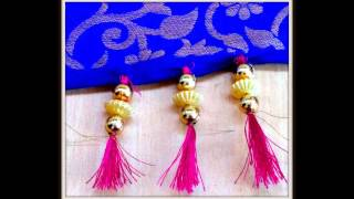 TASSEL DECORATING SAREE BORDERING/DUPATTA