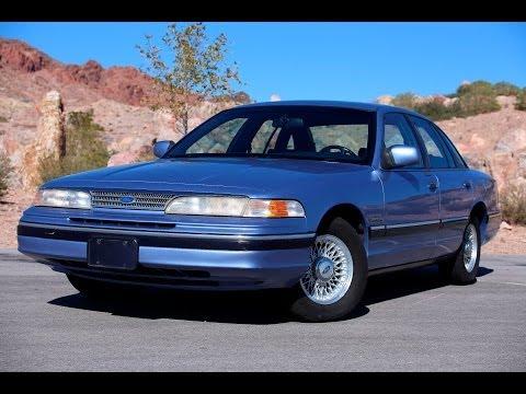 1994 Ford Crown Victoria LX Sexy Beast Grandma Car-Test Drive - Viva Las Vegas Autos