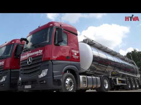 Zestaw Do Transportu Materiałów Spożywczych - Mercedes, Cysterna I Pompa Unibloc