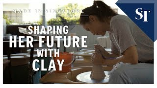 Shaping her future with clay | Made in Singapore| The Straits Times