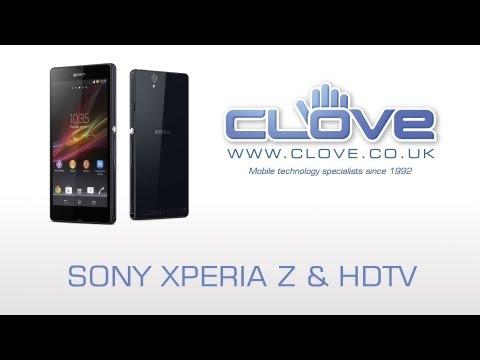 Sony Xperia Z MHL/HDTV Demo