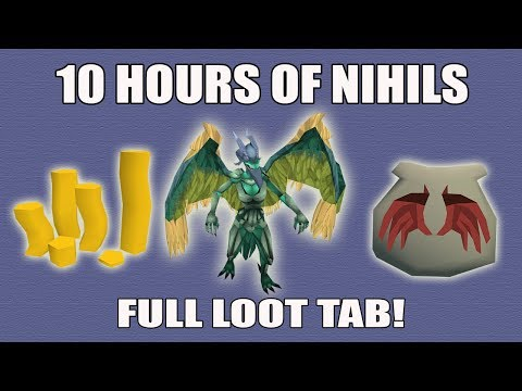 [Runescape 3] Loot from 10 hours of Nihils