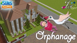The Sims FreePlay 👶🏼| ORPHANAGE |👶🏼 By Joy.