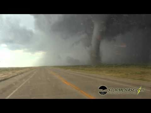 Incredible Tornado in Campo, CO Crosses Road Behind Us.