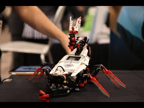 New Lego Mindstorms EV3 Robotic Kits Debut at CES 2013