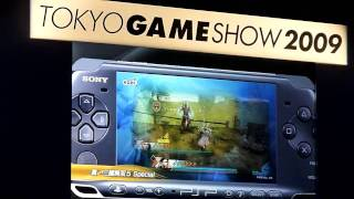 PSP Games Showcase - Hirai keynote TGS 2009