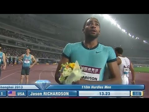 Jason Richardson wins hurdles in Shanghai - Universal Sports