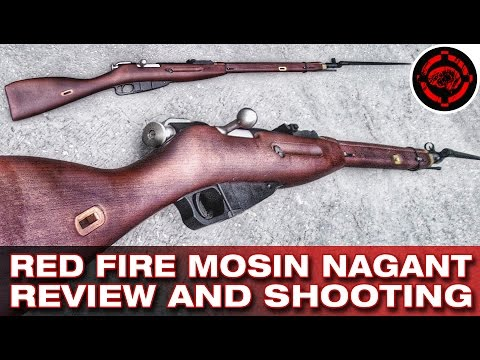 Airsoft Red Fire Mosin-Nagant 1891 Review and Shooting