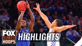 Seton Hall vs. Kentucky | FOX COLLEGE HOOPS HIGHLIGHTS
