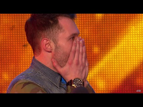 Calum Scott - Dancing On My Own (Lyrics + Video) BGT