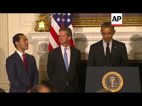 President Barack Obama tapped San Antonio Mayor Julian Castro on Friday to be the nation's next hous