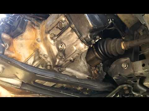 Mazda 626 - Gearbox Oil Change and Back Up Lamp Switch Repair