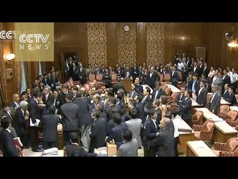 Japan security bills face strong rejection from opposition camp and public