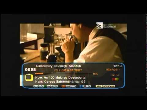 Openbox S10 HD - C2 Banda C e Amaz Ku