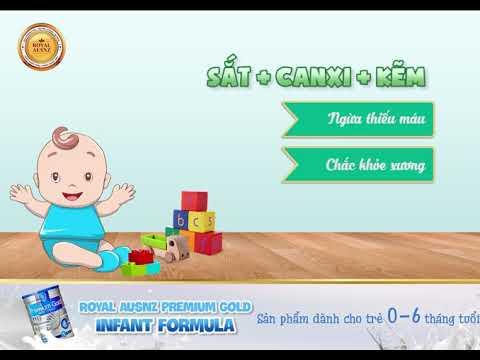 Sữa hoàng gia số 1 dành cho trẻ từ 0-6 tháng tuổi