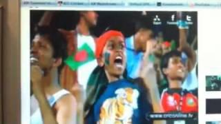 BANGLADESH VS ENGLAND 03-11-2011. A TIGER CUB ROARING!!;)