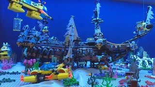 LEGO Shipwreck in my Deep Sea Exploration display! ⚓🐠