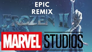 FROZEN 2 TRAILER IS 10X MORE EPIC WITH AVENGERS THEME SONG...