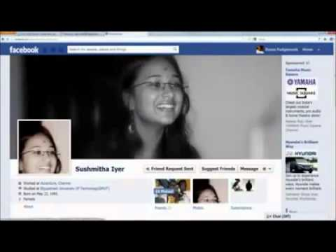 Facebook Love Story Funny Tamil Song   Youtube video