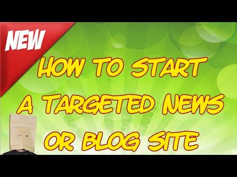 The Faceless Guru-  Start a Targeted News or Blog Site