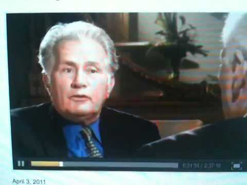 Martin Sheen on anti-abortion stance