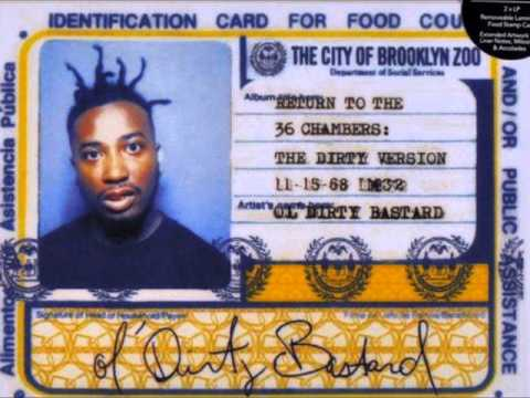 Ol Dirty Bastard - Return to the 36 Chambers - The Dirty Ve