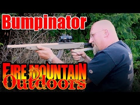Walk around a gun - Ruger 10/22 DIY Bumpfire stock