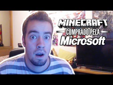 MINECRAFT COMPRADO PELA MICROSOFT