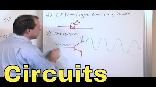 02 - Overview of Circuit Components - Resistor, Capacitor, Inductor, Transistor, Diode, Transformer