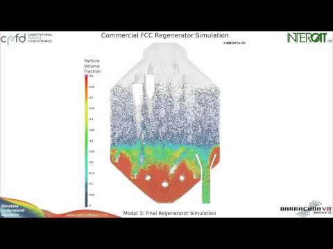 CFD Simulation of a Full-Scale Commercial FCC Regenerator (Full)