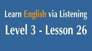 Learn English via Listening Level 3 - Lesson 26 - Australia : People
