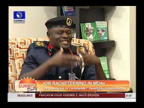 Employment Scam Can't Happen In Civil Defence -- Lagos Commandant - Part 3