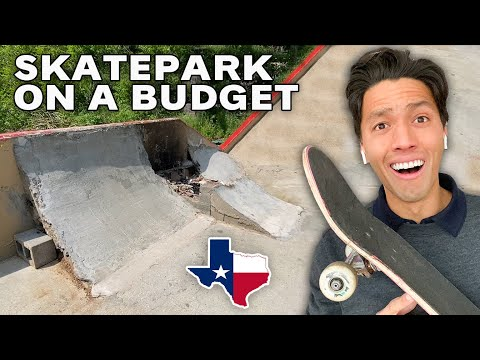 When You Build a Skatepark With No Money