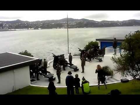 New Guns 2013 New Zealand's 21 Gun Salute